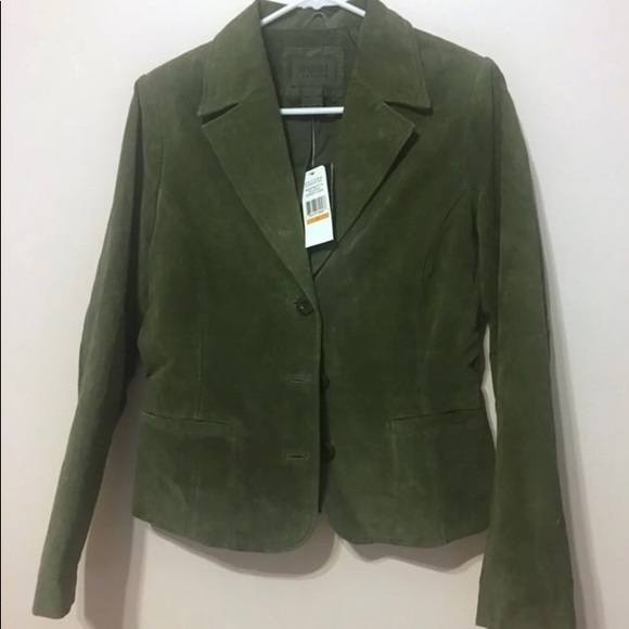John Paul Richard Jackets & Blazers - John Paul Richard Uniform Leather Blazer